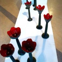 """""""solo"""", 20-28 cm höga keramikskulpturer"""