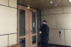 Kiruna nya stadshusdörr