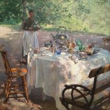Hanna Pauli, Frukostdags 1887